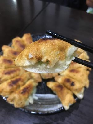 餃子照井東口店円盤餃子の写真