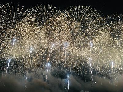 長岡花火のフェニックスの写真