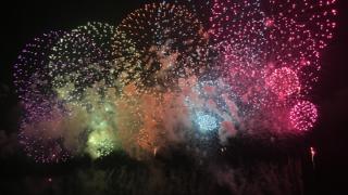 長岡花火の写真