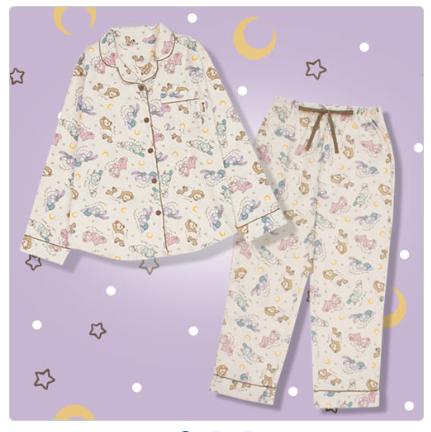ダッフィー新商品パジャマの写真