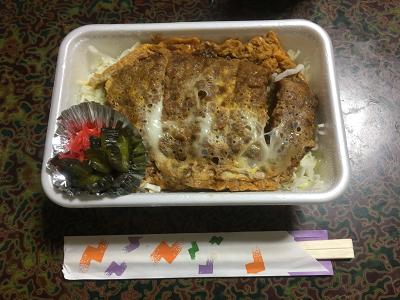 くりむらソースカツ丼煮込みの写真