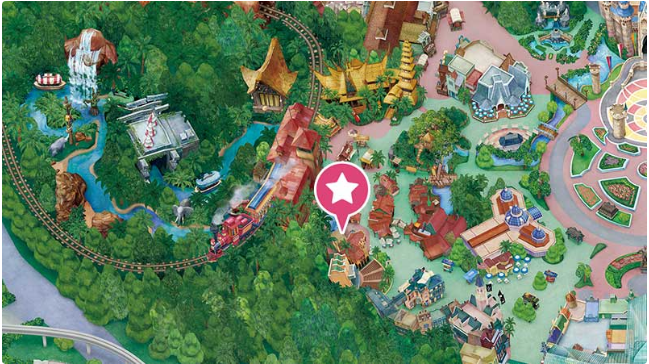 ジャングルカーニバル地図の画像