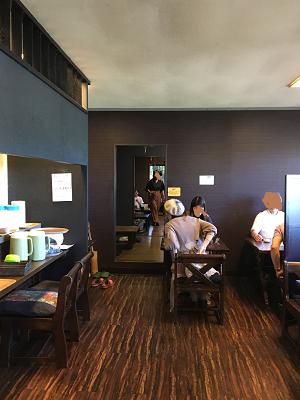 のうえんカフェ店内の写真