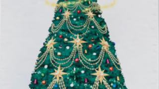 ディズニークリスマスタペストリーの写真