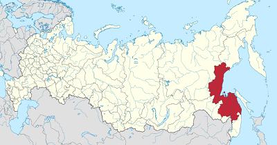 ハバロフスクの地図の画像