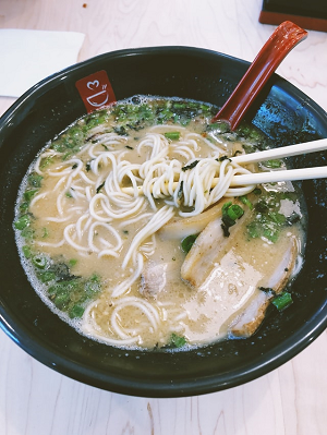生田絵梨花豚骨ラーメンの写真
