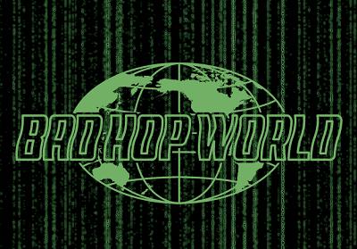 BAD HOPのロゴの写真