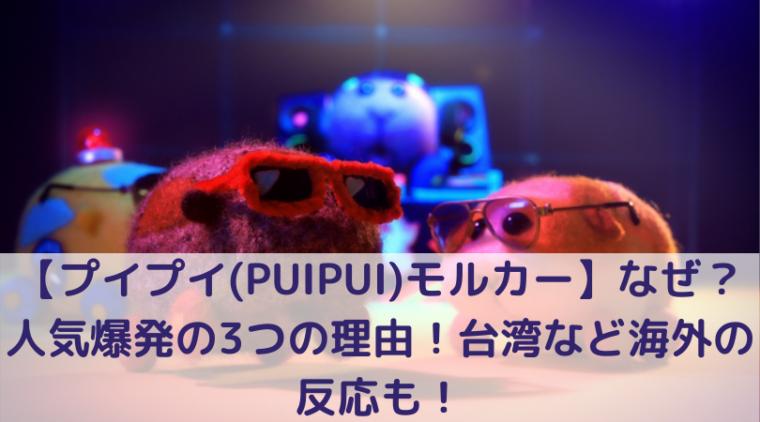 プイプイ(PUIPUI)モルカーの写真
