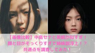 中島セナと美絽の写真