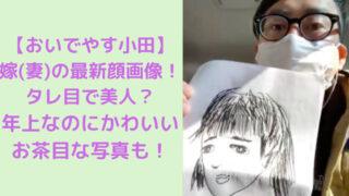 おいでやす小田と嫁のイラストの写真