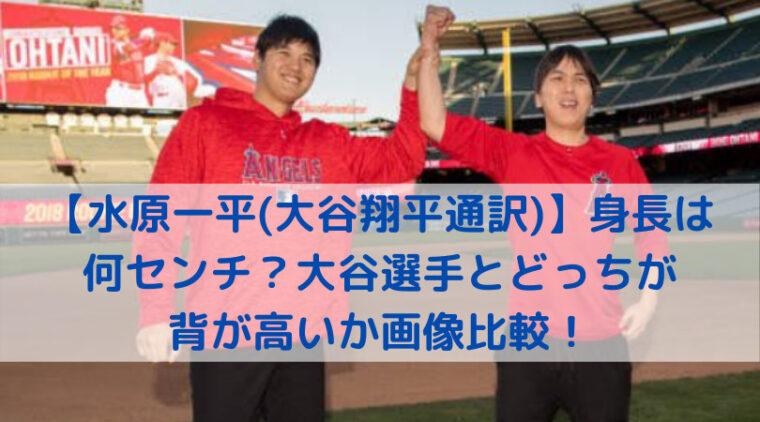 大谷翔平選手と水原一平通訳の写真